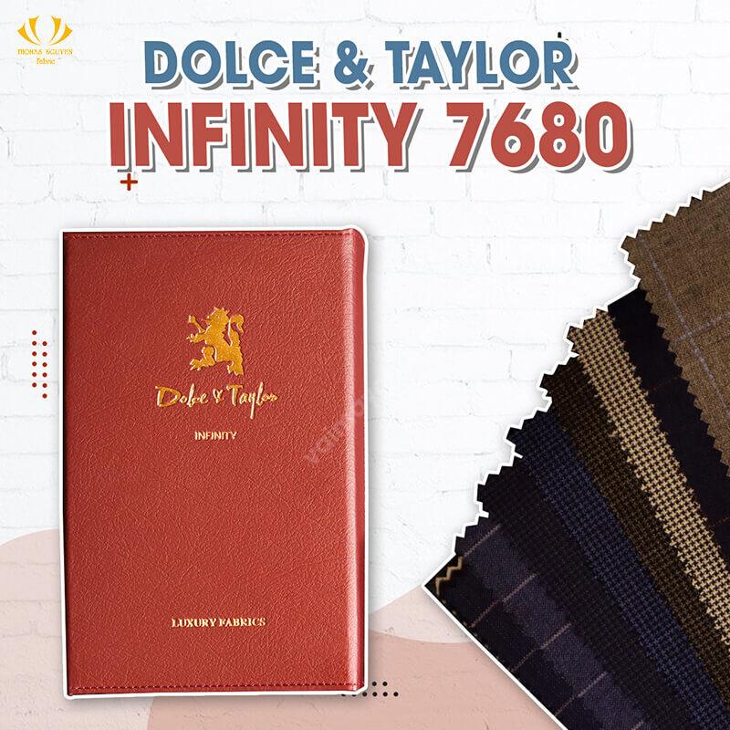 Bộ sưu tập vải Infinity 7680 Dolce & Taylor