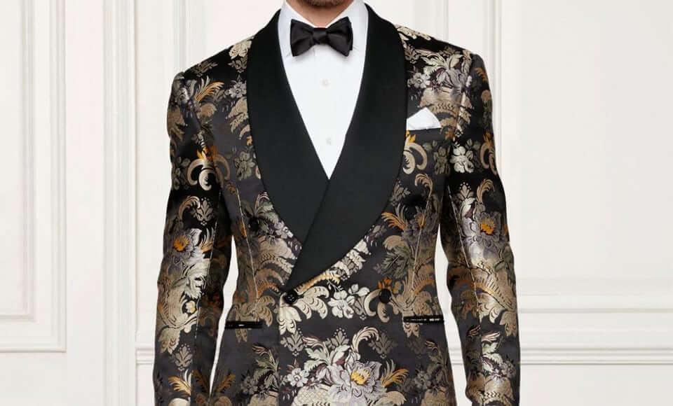 Vải áo vest từ lụa